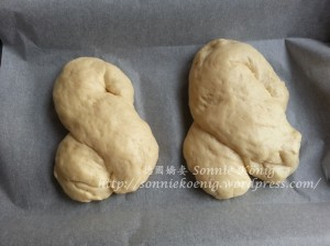 蔥花麵團形狀