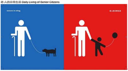 Daily living of senior citizens