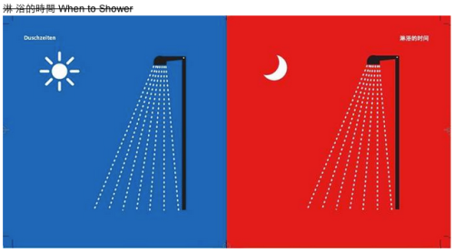 when to shower