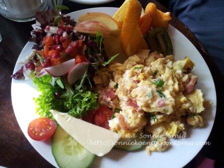 Beackers-Omelette